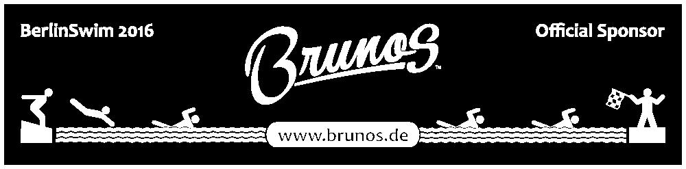 BerlinSwim 2016 Official Sponsor: Brunos - www.brunos.de
