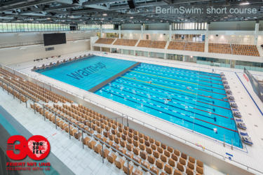 Aquatics center SSE in Berlin @ BerlinSwim 2016 (illustration)